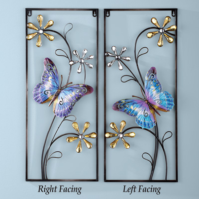 Hanging Heavier Wrought Iron Wall Decor
