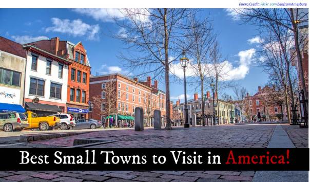 Top 28 best towns in usa the 5 most beautiful towns for Top 5 places to live in usa