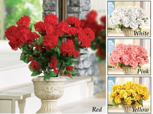 Geranium Bushnel Floral Picks