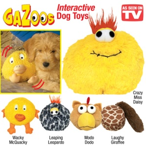 Gazoos-Interactive Dog Toys